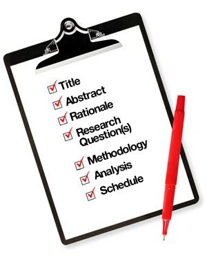 Different kinds of methodology in thesis